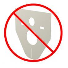 Без звукоизоляционной плиты